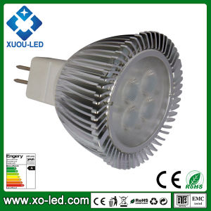 4W MR16 Gu5.3 CREE XPE LED Spotlight to Replace 12W Energy Saving Light and 35W Halogen Lamp