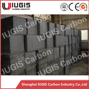 Professional Manufacturer Grain Size 0.8mm Graphite Anode Carbon Block pictures & photos
