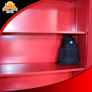 Knock-Down Structure Steel Filing Cabinet with High Quality pictures & photos