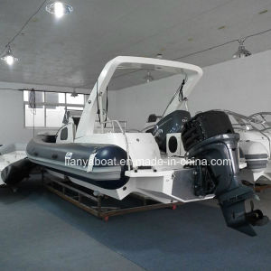 Liya 8.3m Hypalon Yacht Cabin Rib Boat Rigid Inflatable Boat with Engine pictures & photos