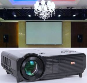 Electric Projector Screens Projection Screen Electric Projection Screen pictures & photos