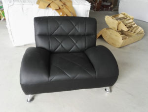 Best Quality Factory Wholesaler Price Office Leather Sofa (811) pictures & photos