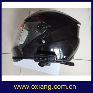 Motorcycle Ski Helmet Bluetooth 1000m Intercom Headset with FM Radio pictures & photos