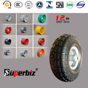 European Standard Environmental PU Wheels (4.10/3.50-4) pictures & photos
