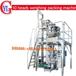 1kg Sugar Packing Machine (10 heads weighing system) pictures & photos