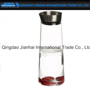 Clear Glass Bottle Cold Water Pot for Household pictures & photos
