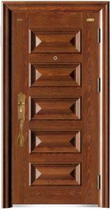 Horizontal Six Panel Steel Security Door pictures & photos