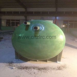 Horizontal FRP GRP Tank Insulate Chemical Storage Tank FRP Tank pictures & photos