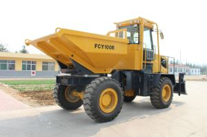 4X4 10ton Weifang Map Dump Trucks pictures & photos