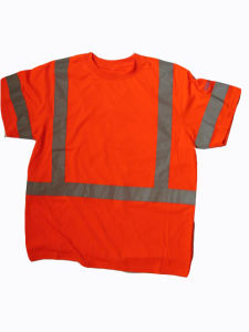 High Visibility Construction Safety T-Shirts