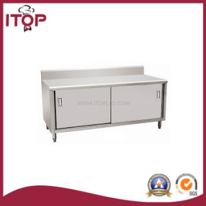 Stainless Steel Economical Kitchen Cabinet (KC-C06) pictures & photos