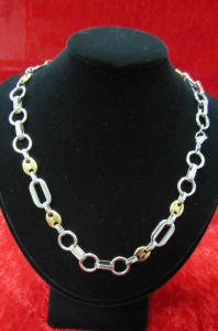 China Factory Steel Jewelry, Wholesale Stainless Steel Necklace pictures & photos