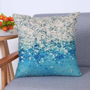 Digital Print Decorative Cushion/Pillow with Botanical&Floral Pattern (MX-84) pictures & photos