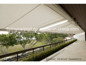 Used Retractable Folding Arm Awning/Patio Shade/Patio Canopy