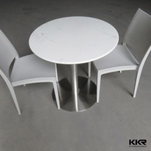 Kingkonree Custom Made Coffee Shop White Dining Table pictures & photos