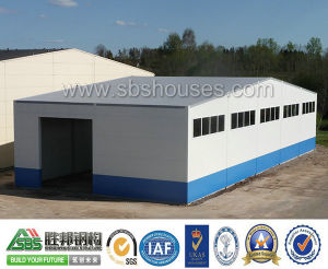 Prefabricated Warehouse/Steel Structure Warehouse pictures & photos