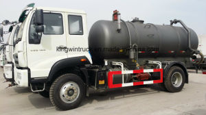 China Sinotruk Brand Suction Sewage Truck pictures & photos