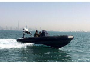Aqualand 21.5feet 6.4m Rib Patrol Boat/Fiberglass Rigid Inflatable Boat (RIB640T) pictures & photos