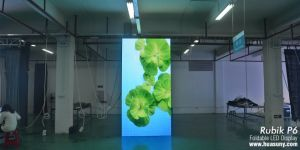 Foldable LED Curtain Display P6 (Rubik6) pictures & photos