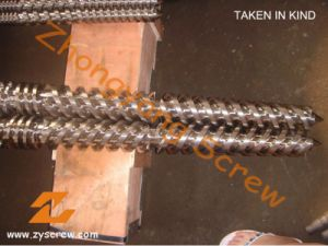 Good Quality Bimetallic Conical Twin Screw and Barrel pictures & photos