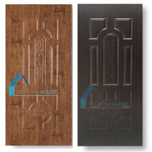 New Design MDF/HDF Melamine Veneer Moulded Door Skin pictures & photos