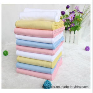 100% Knitted Cotton Baby Sleeping Nursing Blanket pictures & photos
