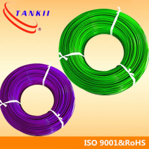 Green and white insulation thermocouple wire/cable (Type KX) pictures & photos