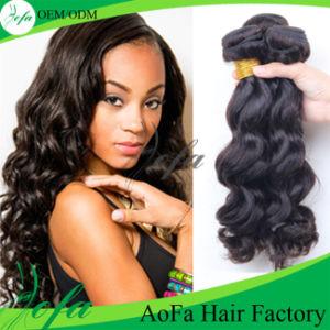 7A Grade Unprocessed Virgin Brazilian Body Wave Human Hair Weft pictures & photos