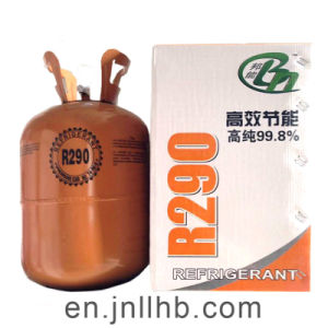 High Purity Hc R290 Refrigerant for Air Conditioner and Condenser