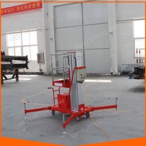 8-10m Aluminum Mast Post Lift for LED Change Cleaning pictures & photos