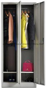 2 Door Cloth Metal Steel Iron Wardrobe/Locker/