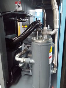 Belt Driven Screw Air Compressor (5.5-55kw 6-13Bar) CE Certificated pictures & photos
