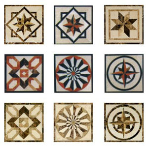 Natural Marble Floor Medallion/Marble Waterjet/Marble Pattern pictures & photos