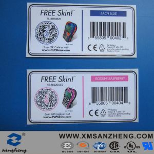 Colorful High Temperature Resistant Barcodes Qr Codes Self Adhesive Stickers pictures & photos