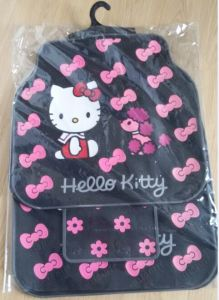 Hello Kitty Latex Car Floor Mats with Good Price (Bt 1707) , Easy to Clear and Wash pictures & photos