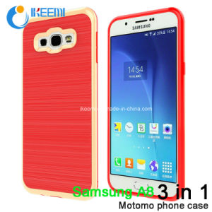 Motomo Shockproof Waterproof Amor Mobile Phone Case for Samsung A8 pictures & photos