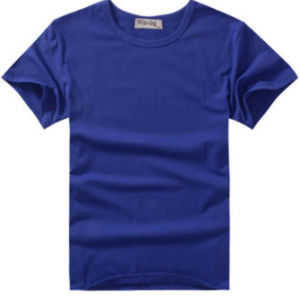 Factory Custom High Quality 100% Cotton Tshirt with Different Colors