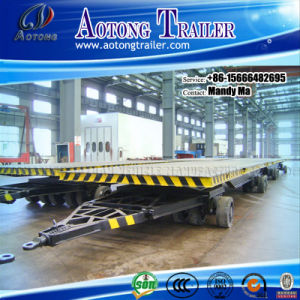 40t Six-Axle Flatbed Utility Full Trailer pictures & photos