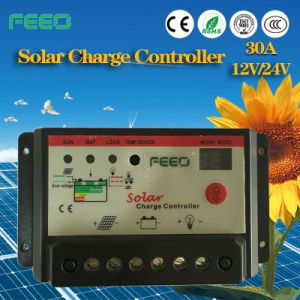 Battery Selectable Power 12V 48V LCD/LED Solar Controller with Monitor pictures & photos