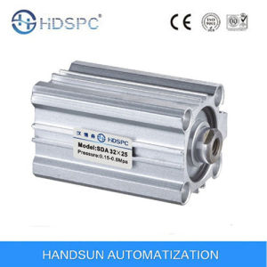 Sda Series Thin Type (Compact) Pneumatic Cylinder pictures & photos