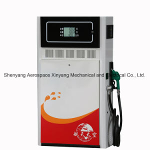 Petrol Pump of One Nozzle and Two LCD Displays (Economic Model) pictures & photos