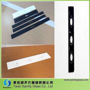 Long Strip Safety Glass Cover with Silk Screen Printing pictures & photos