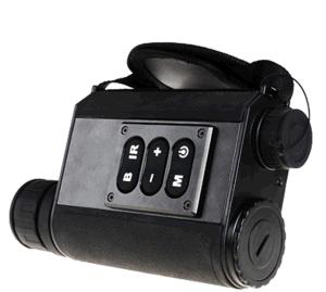 6X32 Hunting Laser Rangefinder Night Vision Telescope Black (LRNV009) pictures & photos