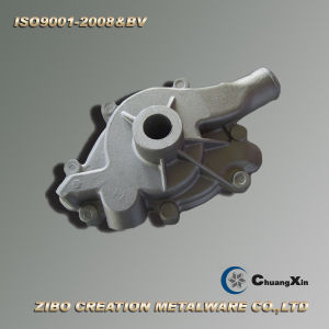 Quality Assured Aluminum Gravity Casting for Auto Water Pump Housing pictures & photos