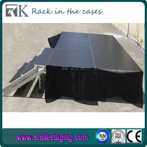 Portable and Aluminum Concert Stage for Sale (BDS-SQ4X4I) pictures & photos