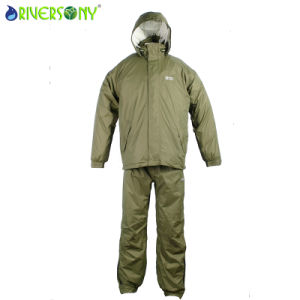 Breathable Nylon/PU Rainsuit pictures & photos
