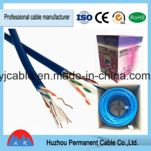 High Performance Bare Copper UTP LAN Cable CAT6 Jumper Cable with RJ45 Golden-Plated Connector pictures & photos