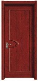Interior Flush Wooden Door for Resident House