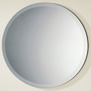 Unframed Silver Mirror with Polished Edge for Bathroom Use pictures & photos