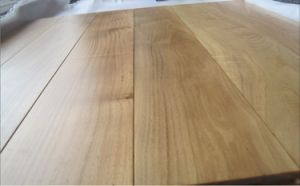 Hand Scraped Matted Asian Teak Wood Flooring pictures & photos